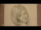 Pencil Sketch of Laura Conner
