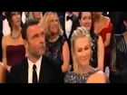 Oscar 2013 Best Actress JENNIFER LAWRENCE Falls On Stage - You guys are standing up because I fell!