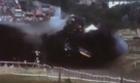 Spectacular 100mph Train Crash Test