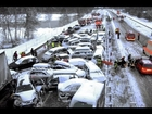 Auto-ongelukken in Rusland 2013 winter/Car Crash Compilation - Part 8