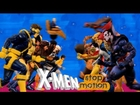 X-Men 1992 Cartoon Intro: Stop Motion