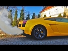Lamborghini Gallardo COLD winter startup | Loud revving