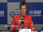NASCAR Kasey Kahne Texas Motor Speedway prerace press conference part 1