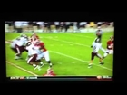 Cameron Lawrence L/B Mississippi State (# 11rank) vs Alabama (# 1 rank) 2012