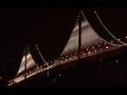 Bay Bridge Lights: An LED Art Installation - Bridge of Light