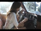 Japanese Girl Pedal Pumping & Cranking Chevy Pickup