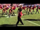 Little kid shows cheerleaders how its done!