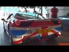 Ferrari 458 LOUD Revving! - 2012 Cannonball 2000