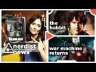 THE HOBBIT movie, WALKING DEAD Giveaway, & More - Nerdist News w/ Jessica Chobot