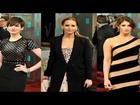 Anne Hathaway, Jennifer Lawrence and Gemma Arterton Rock 2013 BAFTAs Red Carpet