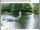New Nessie photo hardly 'proof' of Loch Ness Monster - August 07, 2012
