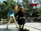 Valentina & Katarina Heiss vs. Traci Brooks & Jessica Dally