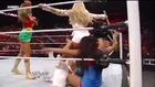 Kelly Kelly stinkfaces The Bellas