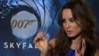 "Naomie Harris and Berenice Marlohe talk  ""Bond girls"""
