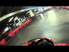 Bang! Go-kart onboard helmet cam